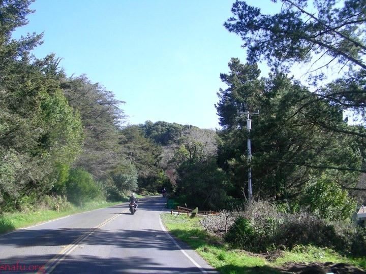 Panoramic Highway Stinson Beach Ca